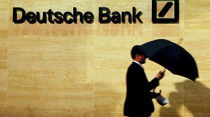 """Susijungus """"Deutsche Bank"""" ir """"Commerzbank"""", Frankfurtas neteks iki 10 tūkst. darbo vietų"""