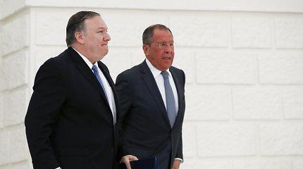 M.Pompeo kaltina Rusiją keliant chaosą Viduržemio jūros regione