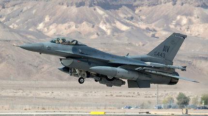 Kinija grasina sankcijomis JAV bendrovėms, susijusioms su naikintuvų pardavimu Taivanui
