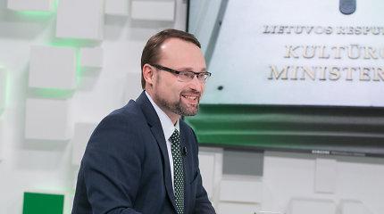 Naujasis kultūros ministras sako, kad jo pirmtakė kultūros strategiją parengė skubotai