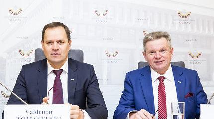 V.Tomaševskis: ministras nepritars geležinkelio elektrifikavimo sutarčiai