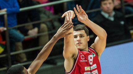 """Serbijos čempione tapo """"Crvena Zvezda"""" – triumfą lėmė metimas su sirena"""