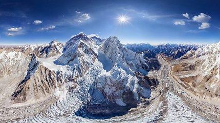 Kaip Everestas gavo savo vardą – G.Everestas to nenorėjo ir kalno nė akyse nebuvo matęs