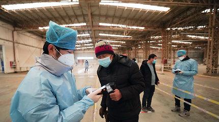 Pekine nustatyti pirmieji užsikrėtimo britiškosios atmainos koronavirusu atvejai