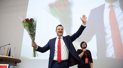 Socdemų kandidatai: G.Paluckas keliasi į Uteną, I.Šimonytei iššūkį mes politologas