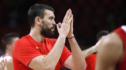 Puikiai iš žaidimo atakavusi Ispanija sutriuškino Tuniso rinktinę