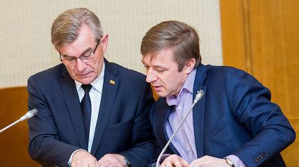 """Seimo pirmininkas metus slėpė žmonos pajamas iš """"Agrokoncerno"""" įmonės"""