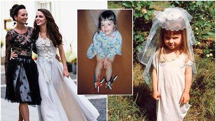 J.Anusauskienė dukros gimtadienio proga pasidalijo vaikystės nuotraukomis: Evelinos neįmanoma pažinti