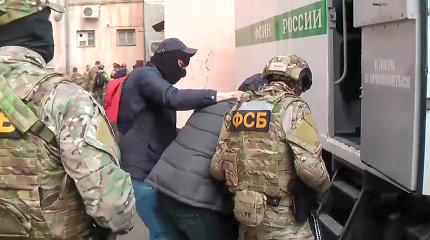 Rusijoje sulaikyti devyni įtariami islamistai