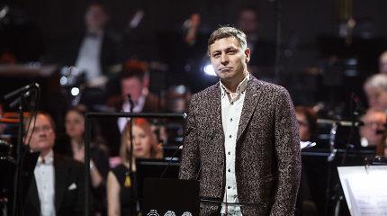 Nacionalinę kultūros premiją atsiėmė M.Ivaškevičius: daug kartų norėjau jos atsisakyti