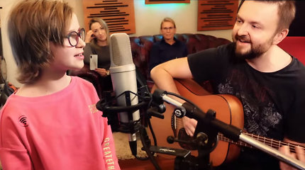 Stano įrašė dainą su vėžiu sergančia mergaite: išgirskite širdį virpinantį kūrinį