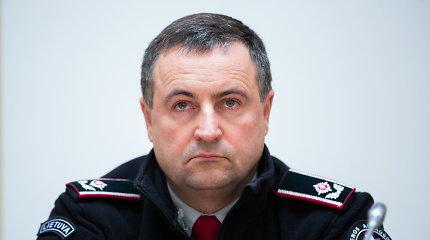 Vilniuje vyks policijos vadovo pasikeitimo ceremonija