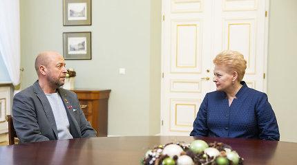 Prezidentė išimties tvarka suteikė Lietuvos pilietybę J.Ohmanui