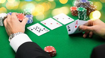 Panevėžio lošimo namuose skriejo kortų dalijimo aparatas