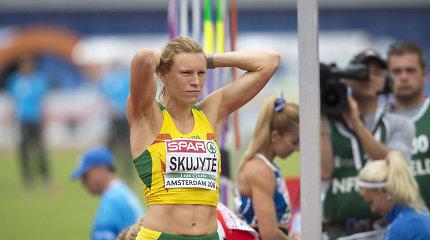 Trauma Austrai Skujytei sutrukdė laimėti medalį