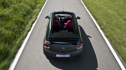 """Paskelbti """"Citroen DS3 Cabrio Racing"""" techniniai duomenys"""