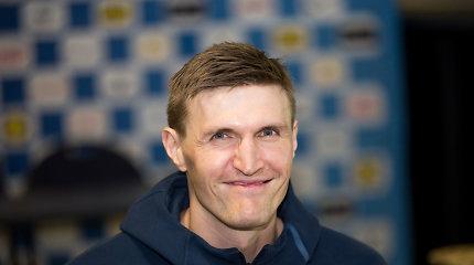 """Andrejus Kirilenka: """"Atleiskite, geriausias rungtynes sužaisdavau prieš Lietuvą"""""""
