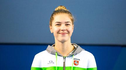Rūtos Meilutytės įkvėpta plaukimo talentė taikosi į olimpines žaidynes