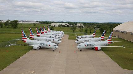 """""""Boeing"""" pranešė aptikusi kritinės svarbos """"Boeing 737"""" šeimos orlaivių sparno defektą"""