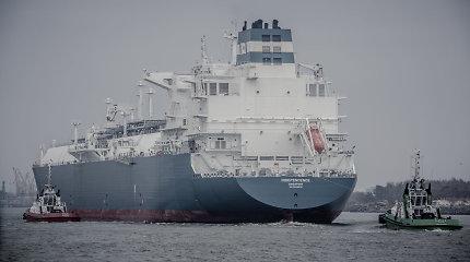 """Į Klaipėdą atplaukė laivas """"Independence"""""""