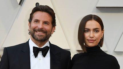 Irina Shayk ir Bradley Cooperis išgyvena santykių krizę: kalbama, kad modelis paliko bendrus namus