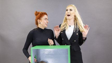 """""""Atspėk, kas dėžėje"""" – dar viena juoko bomba: iš streso Kristinai Ivanovai surakino nugarą"""