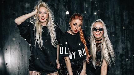 """Merginų grupė """"Kristal"""" pristato naują fotosesiją, skirtą klubinės muzikos programai"""