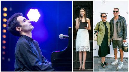 Valdovų rūmus užvaldė armėniškas džiazas: publiką pakerėjo fortepijono virtuozas Tigranas Hamasyanas