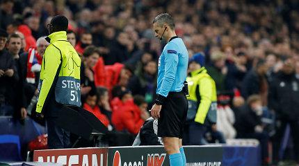 """Po diskutuotino VAR įsikišimo – skirtingi """"Real"""" ir """"Ajax"""" trenerių vertinimai"""