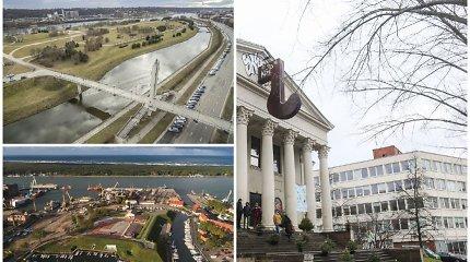Kaip atrodys didieji Lietuvos miestai ateinančius ketverius metus?