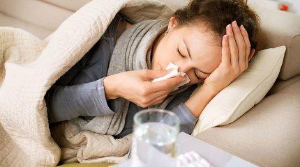 Oras tobulas virusams plisti: kaip apsisaugoti ir ko griebtis susirgus?