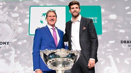 """Futbolininko G.Pique pažadas: """"Įrodysiu, kad naujos Daviso taurės kritikai buvo neteisūs"""""""