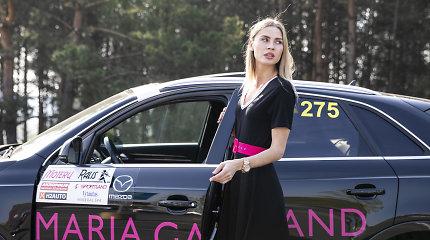 """Silpnybę brangiems automobiliams jaučianti Simona Starkutė: """"Visus mersus nusipirkau pati"""""""