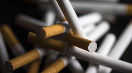 Cigarečių paklausa Latvijoje toliau didėja