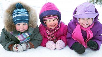 Šeimos gydytoja Aušra Urbutienė: vaiko pramogos lauke svarbios ir žiemą