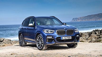 Naujas BMW X3 turi tai, kas iki šiol buvo matoma tik 7 serijos modeliuose