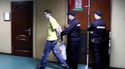 Rusijoje į kalėjimą pasiųstas V.Sinica – už žinutę tviteryje