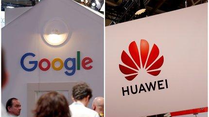 """""""Google"""" pranešė, kad jos paslaugos ir toliau veiks """"Huawei"""" telefonuose"""