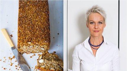 Nidos receptas: sėklų, kruopų ir riešutų duona be miltų