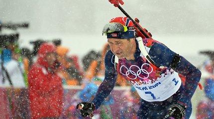 Į penktąją dešimtį įkopęs Ole Einaras Bjoerndalenas trauktis neketina – varžysis iki 2016 metų