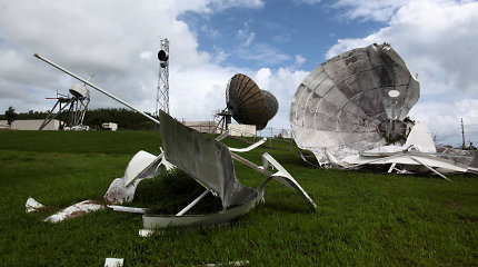 Praėjus trims mėnesiams po uragano Puerto Rike dar daug nebaigtų darbų