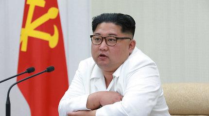Kremlius: Kim Jong Unas balandžio pabaigoje apsilankys Rusijoje