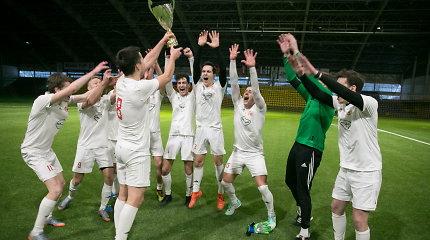 """Kalėdiniame SFL turnyre triumfavo """"Ateitis"""""""