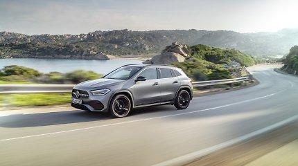 """Naujasis """"Mercedes-Benz GLA"""": ne toks mažas, kaip atrodo"""