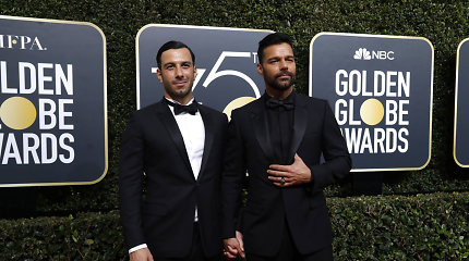Ricky Martinas slapta susituokė su dailininku Jwanu Yosefu