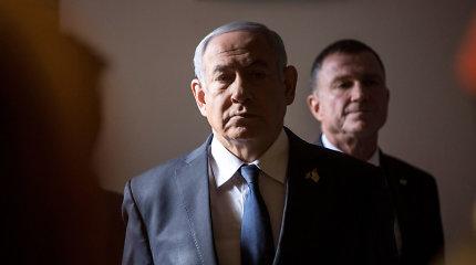 Europiečiai perspėja B.Netanyahu dėl pažado aneksuoti Vakarų Kranto dalis