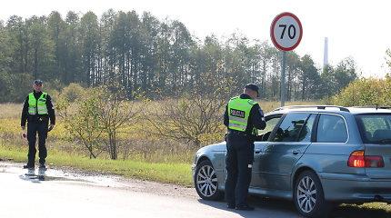 Reidą surengę Alytaus pareigūnai sučiupo 5 girtus vairuotojus