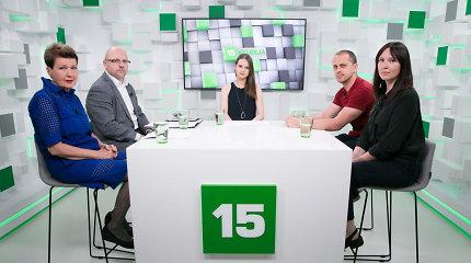 """15min studijoje – pokalbis apie lietuviško kino sezoną, """"Sidabrines gerves"""" ir #metoo judėjimą"""