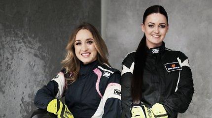 """""""Speed Sisters"""": dvi greičiausios Lietuvos žiedo lenktynininkės suvienijo jėgas"""