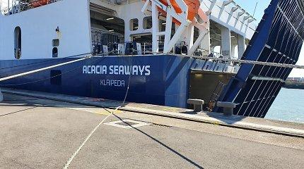 Šiaurės jūroje plaukios DFDS keltas: dar vienas laivas su Lietuvos vėliava